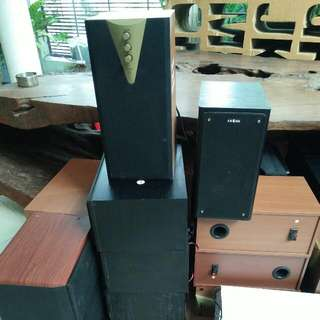 Various Brands Of Speakers For Sales