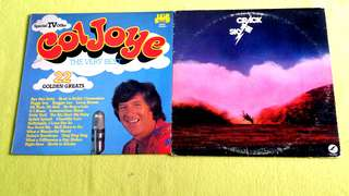 Pding CRACK THE SKY . crack the sky ● COL JOYE . the very best 22 golden greats. ( buy 1 get 1 free )  Vinyl record