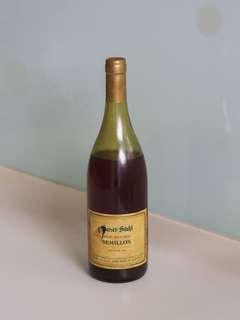 Semillon wine, 30 yrs