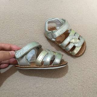 Chicco genuine leather baby sandals