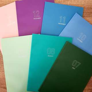 INNISFREE MONTHLY PLANNER DIARY