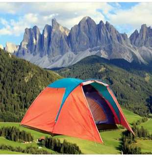 Tenda camping hyu dablelayeer