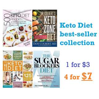 ebooks: Keto Diet Best Seller Bundle (4 books in one)