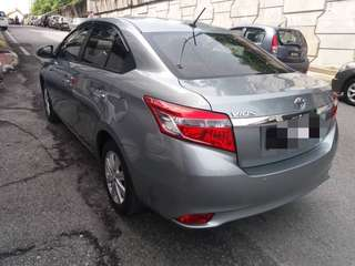 Toyota Vios 2017 For Rent