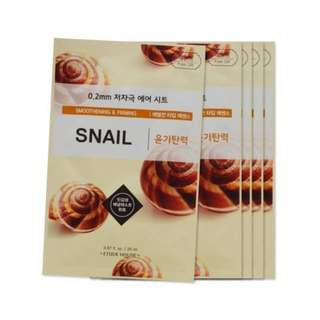 Etude House 0.02 MM Therapy Air Mask SNAIL