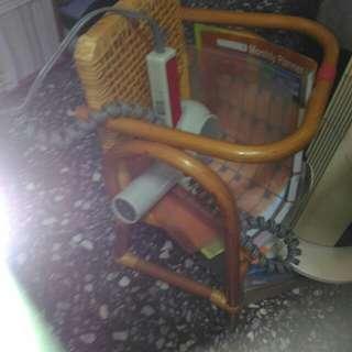 🚚 嬰兒竹籐機車座椅