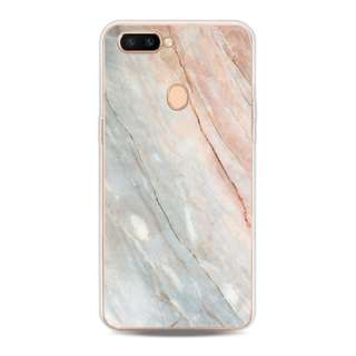 White marble oppo f5 phone case