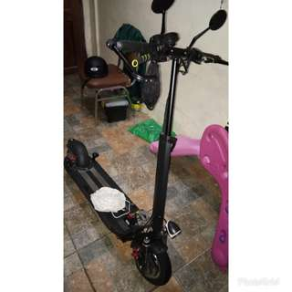 Electric scooter version A (1 month old)