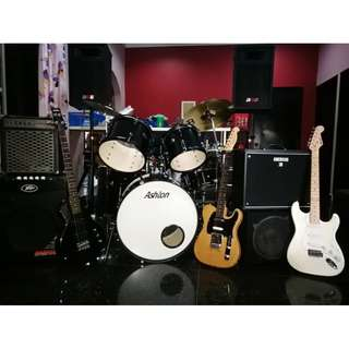 Full Band Set Rental for Functions