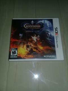 3ds Castlevania mirror of fate