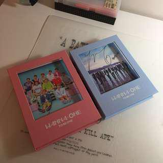 WANNA-ONE Signed Albums