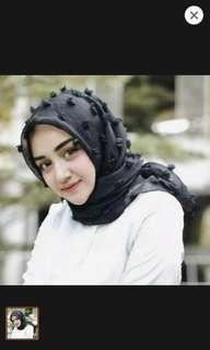 hijab segiempat linen rubiah (take all)