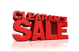 CLEARANCE, 20% OFF on current price  for all my items