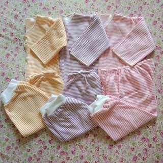 Setelan bayi newborn baju bayi tangan panjang
