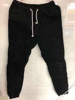 🚚 H&M黑色卡其長褲