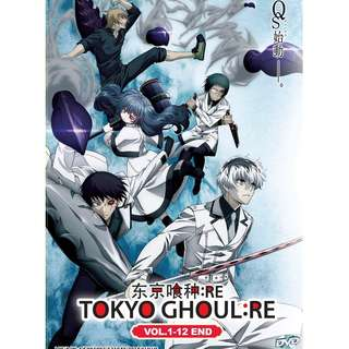 Tokyo Ghoul-re Vol.1-12 End 东京喰种:RE Anime DVD (Eng Dub)