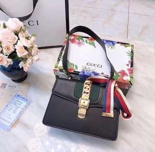 Gucci Small Sylvie Shoulder Bag Crossbody Bag