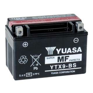 Yuasa YTX9BS (onsite installation available)