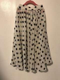 Customized Polka Skirt