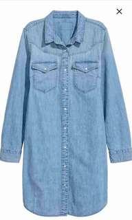 Authentic H&M denim dress