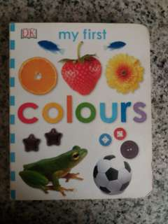 Colours board book