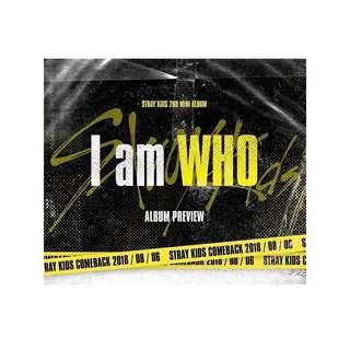 (PO) Stray Kids Mini Album Vol. 2 (I am WHO)