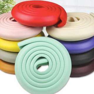 2 METERE RED Safety Bumper Strip For Corners / Cushion Protectors / Baby Guard
