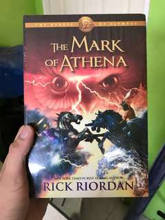 Mark of Athena Rick Riordan (Hardbound)