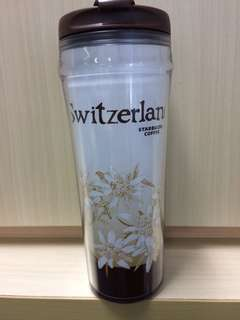 Starbucks Tumbler Switzerland Original Starbucks Switzerland  Size : tall ( 12 fl oz/350 ml) Bahan : plastik