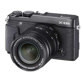 Fujifilm X-E2S Mirrorless Digital Camera with 18-55mm Lens (Black)