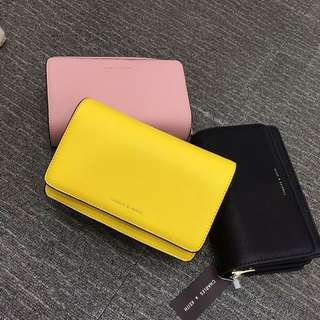 Sale!!!! Brandnew Authentic Charles & Keith Pouch wallet (with sling)