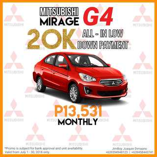 Mitsubishi Mirage G4 GLX Manual LOW DOWN Promo SURE Approval NO Minimum Requirements DIAL NOW! 09394948123 or 09458443741