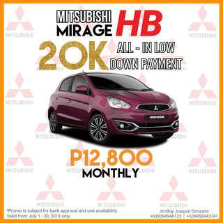 Mitsubishi Mirage Hatchback LOW DOWN Promo SURE Approval NO Minimum Requirements DIAL NOW! 09394948123 or 09458443741