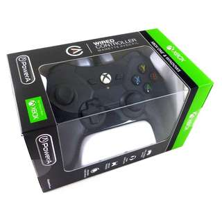 [BNIB] Official Microsoft Licensed Xbox One XB1 & PC PowerA Wired Controller - Black (Brand New Boxed)