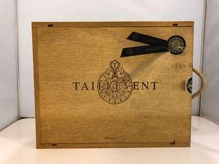 3支裝紅酒木箱一個