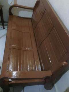 3 Seater wood