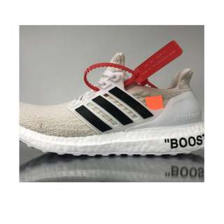 Off White x Adidas Ultra Boost 3.0