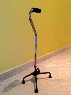 Quad stick/walking stick