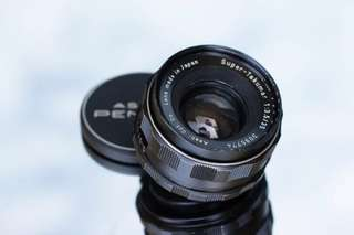 Asahi Pentax Super Takumar 35mm f3.5 m42 lens S/N 3095774