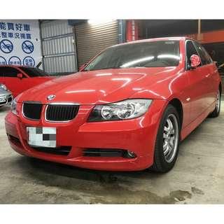 BMW E46 320 紅色 優惠出清(FB:桃園阿福_優質中古車)