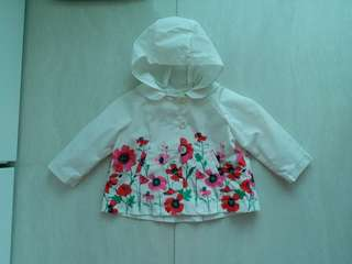 (包郵)baby GAP,風褸/雨褸,6-12 months