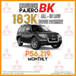 Mitsubishi Pajero LOW DOWN Promo SURE Approval NO Minimum Requirements DIAL NOW! 09394948123 or 09458443741