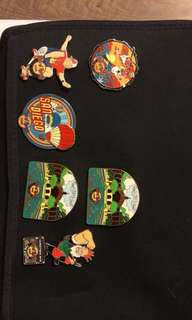 Hard Rock Cafe pin collection