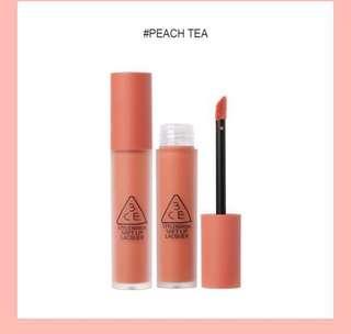 JUAL RUGI! 3CE Lip Lacquer #PeachTea (NO NEGO)