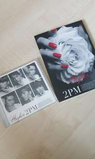 2pm Japanese Single 《Higher》A edition & normal edition