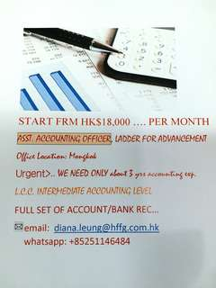 Assistant Accounting Officer