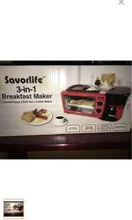 Breakfast Maker 3 in 1
