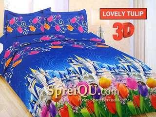 Sprei Bonita Tulip Paris 160x200