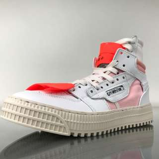 OFF-WHITE X 3.0 LOW SNEAKER White Pink