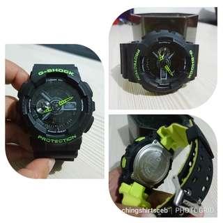 Casio Watch Gold